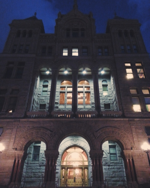 City Hall looks like it's run by ghosts, so that could potentially be a thing.